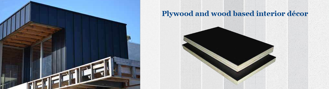 Block board waterproof plywood chequered